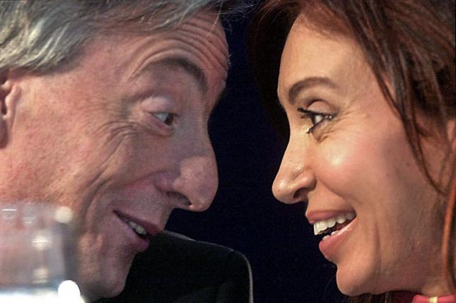 Nestor Kirchner y Cristina Fernández de Kirchner